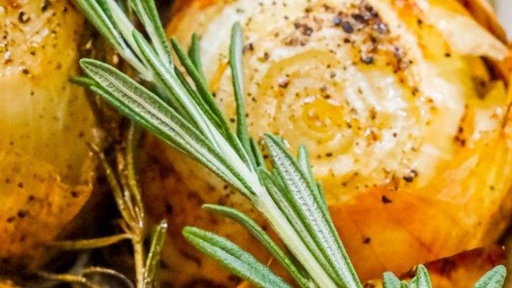 Whole Roasted Onions Recipe