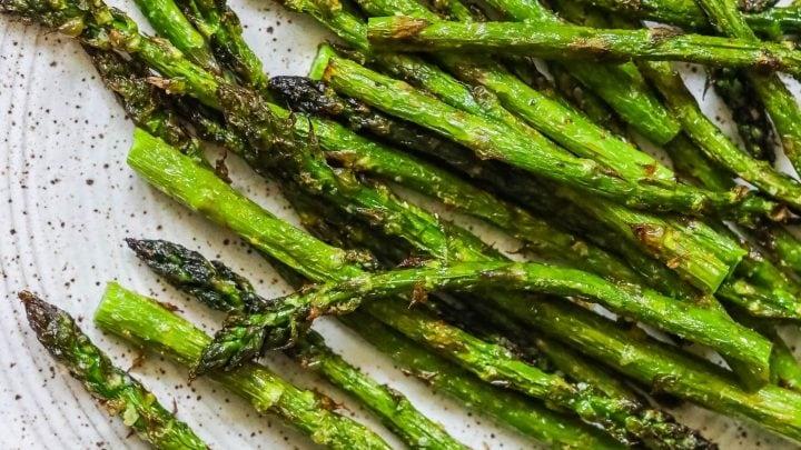 The Best Easy Air Fried Asparagus Recipe
