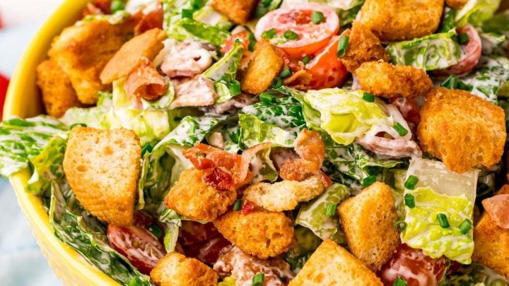 Easy BLT Salad Recipe