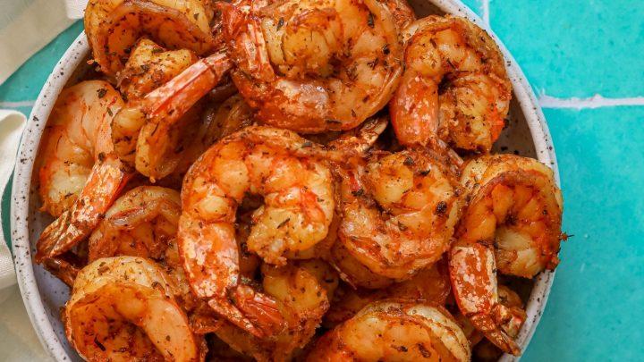 Air Fryer Blackened Shrimp Recipe