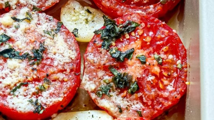Easy Roasted Tomatoes Recipe